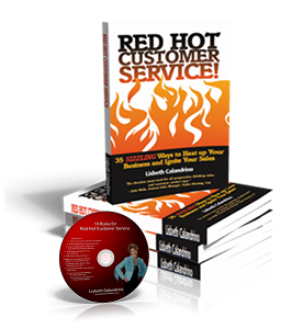 Red Hot Customer Service - Book & CD