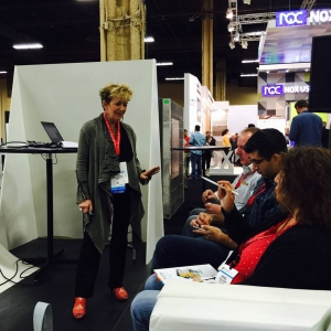 Lisbeth at Surfaces 2016