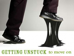 Getting unstuck is not that hard.