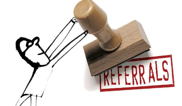 What does a vendor referral mean?